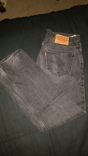 Black Levi Strauss 505 Jeans for Sale in San Carlos, CA