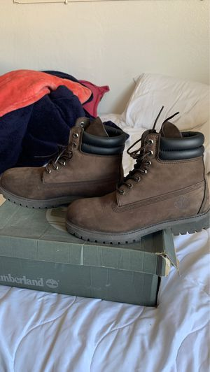 Brown timberland boots great condition for Sale in San Jose, CA
