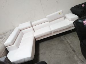 Sectional. Brand new in box. Chaise +couch. for Sale in Riverside, CA