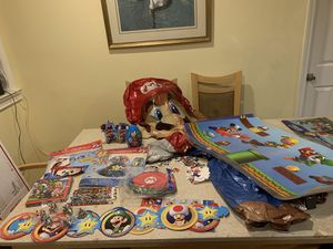 Mario brothers party supplies and decorations for Sale in San Francisco, CA
