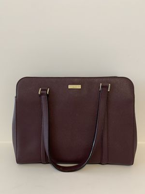 Large Burgundy Kate Spade Purse for Sale in Bakersfield, CA