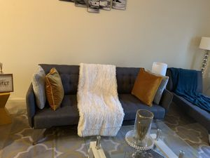 Futon Couch grey for Sale in San Jose, CA