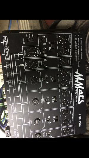 Mats pro audio crossover for Sale in Ellenwood, GA