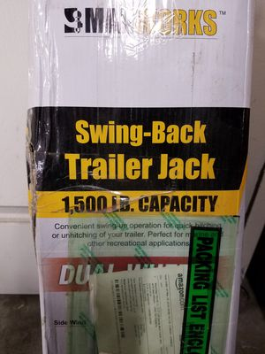 maxxhaul trailer jack for Sale in Cliffside Park, NJ