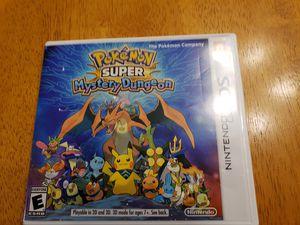 Pokemon Super Mystery Dungeon Nintendo 3DS for Sale in Jacksonville, FL