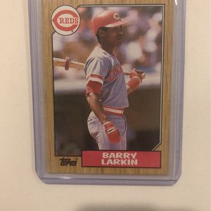 Barry Larkin 1987 Topps Rookie Mint for Sale in Fayetteville, AR