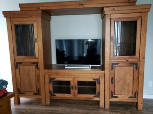 Solid wood wall unit for Sale in North Miami Beach, FL