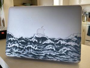Ocean Wave MacBook Air 13.3 Inch Hard Shell Case for Sale in Santa Barbara, CA