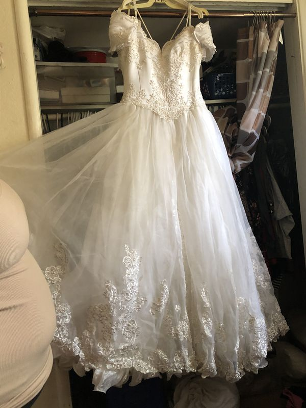 Quinceanera dress size 10 used condition