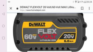 DeWalt flexvolt battery and miscellaneous tools for Sale in CO, US