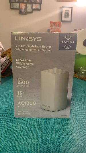 Linksys Velop Dual Brand Router for Sale in Ontario, CA