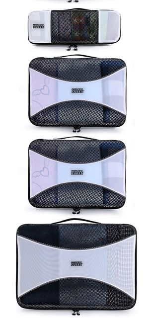 PRO Packing Cubes for Travel – Mesh, Ultralight Packing Cubes Set of 10 Pieces - YKK Zippers, Hi-Tech Nylon Fabric - Travel Luggage Packing Organizer for Sale in Rowland Heights, CA