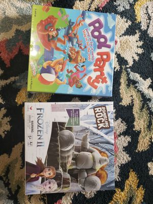 2 board games new! for Sale in San Antonio, TX