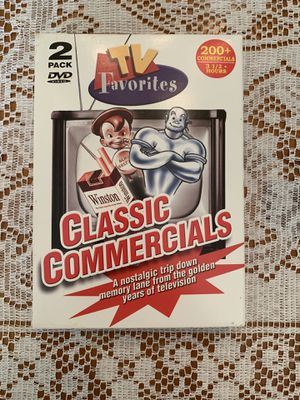 Classic Commercials DVD 2-Pack for Sale in Douglasville, GA