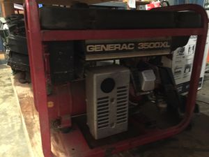 Generac 3500XL generator for parts or fix for Sale in Gig Harbor, WA