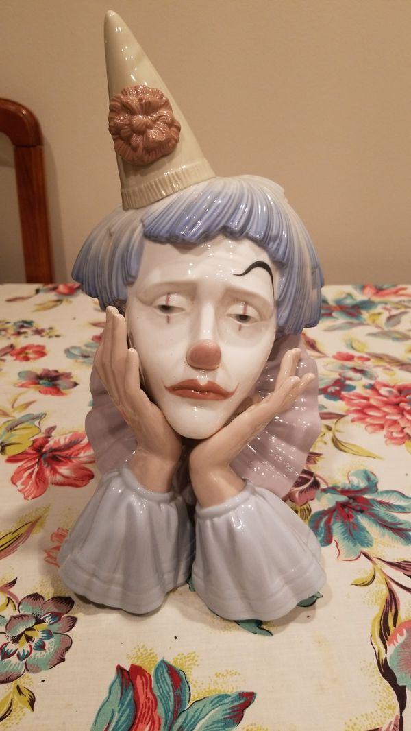 Lladro Clown figurine
