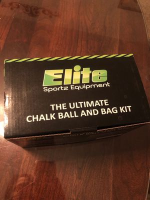 Gym Chalk Ball and Bag Kit for Sale in Columbus, OH