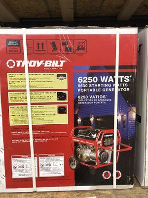 Troy Built 6250 watt generator for Sale in Rockford, IL