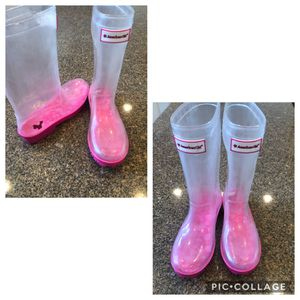 American Girl rain boots size 2 for Sale in Albuquerque, NM