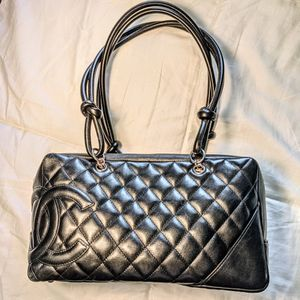 CHANEL Quilted Cambon Bowling Shoulder Bag for Sale in Hollywood, FL