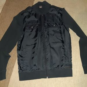 Black Michael Kors Zip Up Light Jacket for Sale in St. Charles, IL