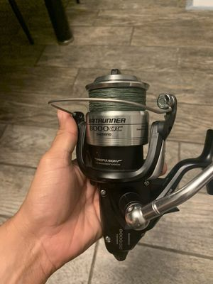 Shimano Baitrunner 8000 OC Fishing Reel and 8' Rod Combo for Sale in Tampa, FL