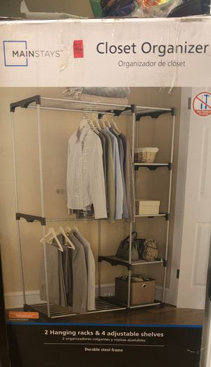 Steel Storage/ closet organizer for Sale in Cupertino, CA