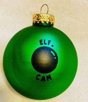 Elf Cam Ornament for Sale in Poulsbo, WA