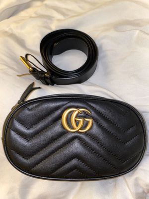 Gucci GG Marmont Small Matelasse Leather Belt Bag for Sale in Fairfield, CA