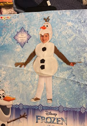 Olaf costume from Disney 4-6 for Sale in Sandy Springs, GA