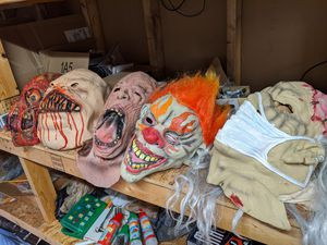 5 Halloween masks for Sale in Whitney Point, NY