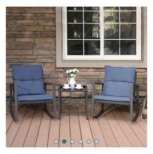 3-Piece Outdoor Patio Furniture Set for Sale in Trenton, NJ