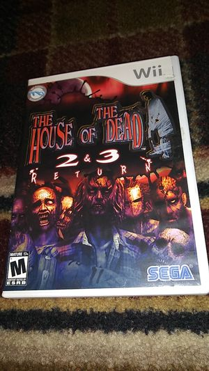 THE HOUSE OF THE DEAD 2 & 3 RETURN - (USED) Nintendo Wii & Wii U video game for Sale in Stockton, CA