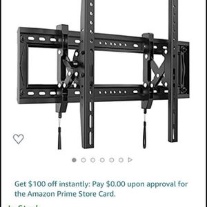 New TV Wall Mount Bracket for Most 50-90 Inch OLED LCD LED Curved Flat TVs-Extends for Max Tilting for Sale in Corona, CA