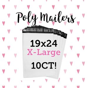10CT 19x24 Poly Mailers Shipping Bag Poly Bag for Sale in Catlettsburg, KY