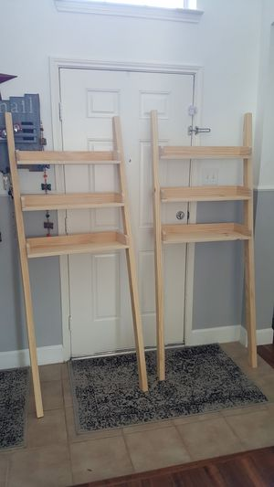 Over the toilet bathroom ladder shelf for Sale in Frisco, TX
