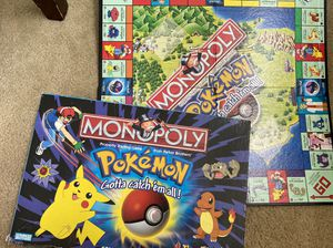 Monopoly (Pokémon Edition) Board Game for Sale in Etiwanda, CA