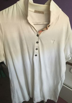 Men Authentic Burberry Shirt Size Large for Sale in Washington, DC
