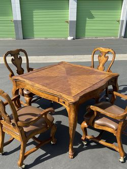 Floyd Evans 5 Piece Poker Game Table Set for Sale in Pico Rivera, CA