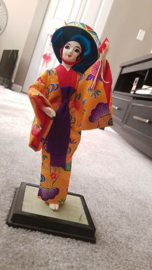 Stitched Japanese Doll for Sale in Darnestown, MD