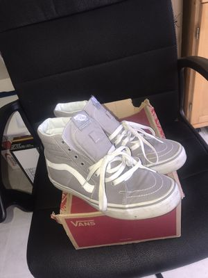 Vans Hi-top Grey for Sale in Silver Spring, MD