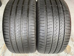 Two 315/40/21 Pirelli Scorpion Verde with 75-95% left amazing pair Mercedes GLE 43 AMG rear pair for Sale in Hialeah, FL