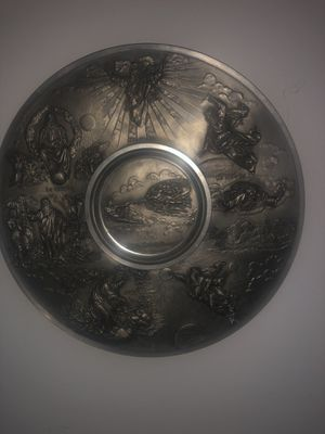 1980s west Germany pewter plate for Sale in STELA NIAGARA, NY