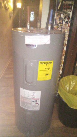 Richmond hot water heater for Sale in Indianapolis, IN