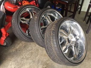Tires Rims 245/30/ZR22 for Sale in Kissimmee, FL