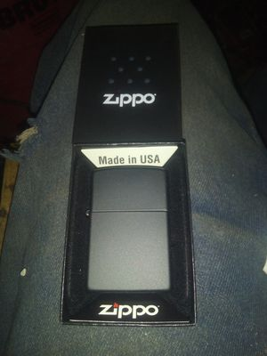 Brand new flat black Zippo lighter for Sale in Los Angeles, CA