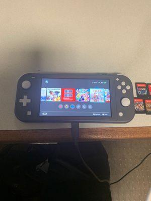 Nintendo Switch Lite (Gray) Bundle for Sale in Bridgeport, CT