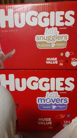 Huggies Little Snugglers SIZE 5 Retails: $39.99 Asking: $25 FIRM!! for Sale in Corinth, TX