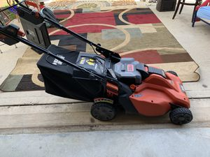 36v cordless lawn mower for Sale in Katy, TX