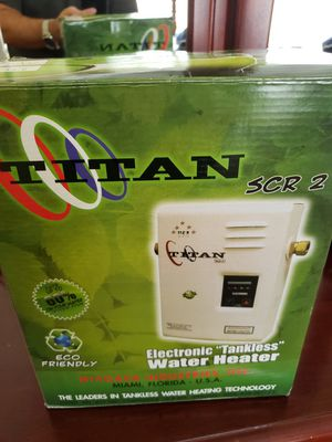 Titan tankless water heater for Sale in Coral Springs, FL
